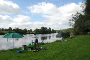 Pêche sur la Sarthe